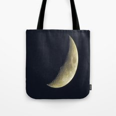 Sunset Crescent Tote Bag