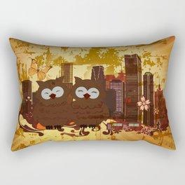 Grossstadteulen Rectangular Pillow