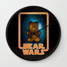 Bear Wars - Chompy Wall Clock