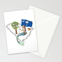 South Carolina Mermaid Stationery Cards