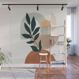 Soft Shapes IV Wall Mural