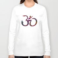 om Long Sleeve T-shirts featuring OM by Tali Rachelle