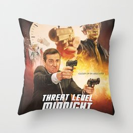 Threat Level Midnight Throw Pillow