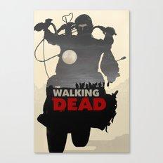 Daryl Dixon - Black and White Canvas Print
