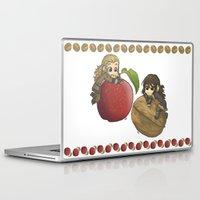 kili Laptop & iPad Skins featuring Apple&Walnut_Fili&Kili by ScottyTheCat