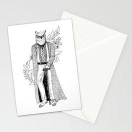 The Owl: Athena Stationery Cards