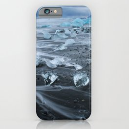 Jokulsarlon Beach - Iceland Print (RR255) iPhone Case