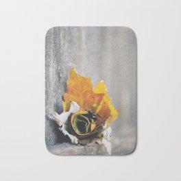 Leaf Rose Bath Mat