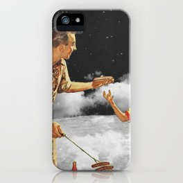 Family Barbecue iPhone Case