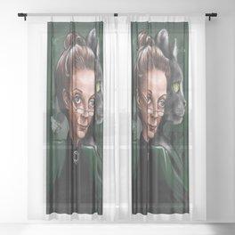 Minerva McGonagall Sheer Curtain