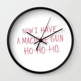 Ho-Ho-Ho Wall Clock