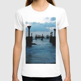 Pillars by the sea T-shirt