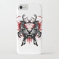 predator iPhone & iPod Cases featuring Predator by Enkel Dika