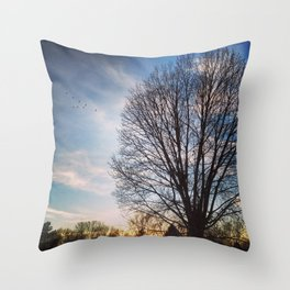 Still and Standing Strong Throw Pillow