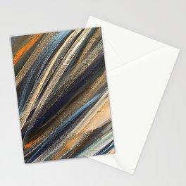 Dark Brushstrokes Painting Stationery Cards