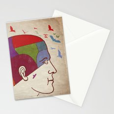 Thought patterns Stationery Cards