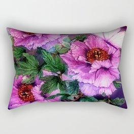 PEONIES IN BLOOM Rectangular Pillow