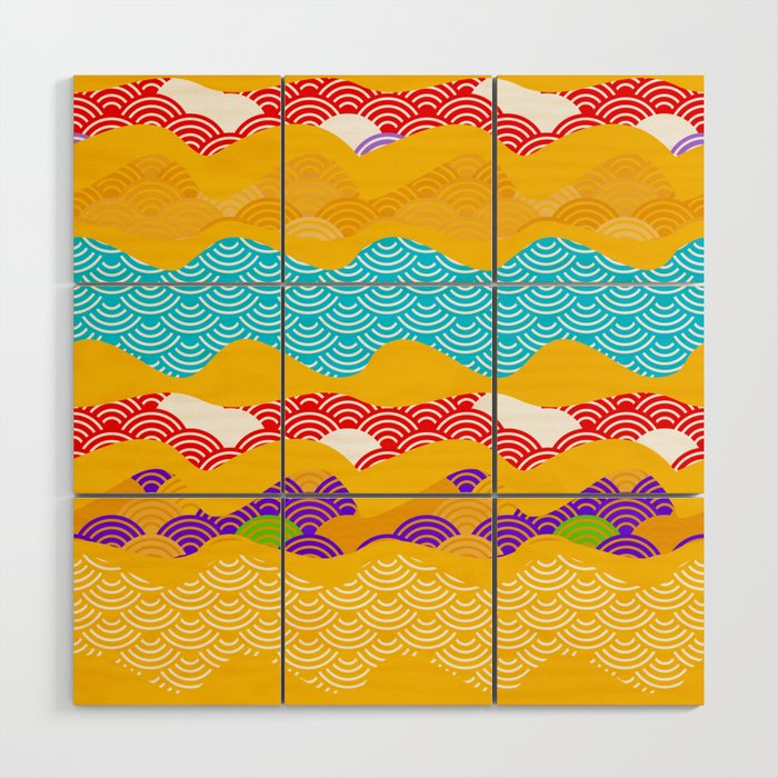 Summer bright pattern scales simple Nature background with Chinese ...