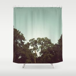 the trees Shower Curtain