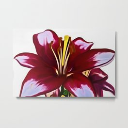 Lily (Digital Art) Metal Print
