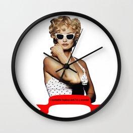 Carly Marshall- Jessica Lange Wall Clock
