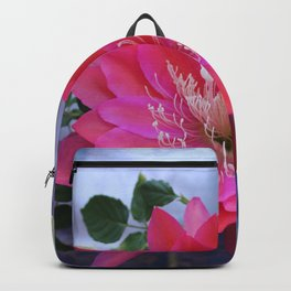 Roses Are White, Cactus is Rose... Backpack