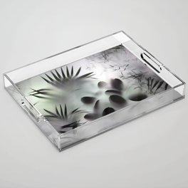 Jungle Decor Acrylic Tray
