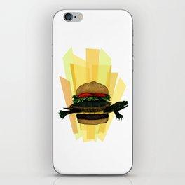 Turtle Sandwich iPhone Skin