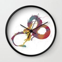 Joel Freeman's Miyazaki Art M1 Series: Spirited Away Wall Clock