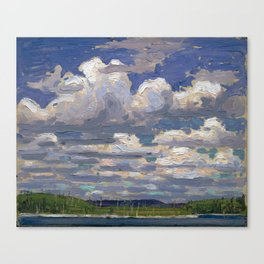 Tom Thomson - Summer Day - Canada, Canadian Oil Painting - Group of Seven Canvas Print