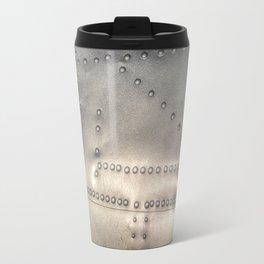 Aluminium Aircraft Skin Abstract Texture Travel Mug