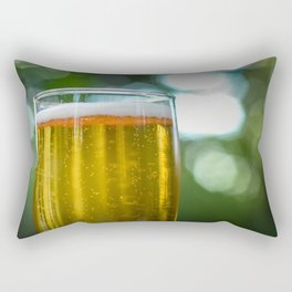 South African Beer In A Glass Rectangular Pillow