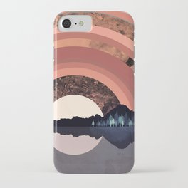 Forest Night Reflection iPhone Case