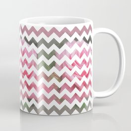 Pink Roses in Anzures 4 Chevron 3T Coffee Mug