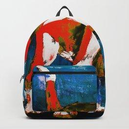 Orange Puppy Backpack