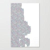 weird Canvas Prints featuring Weird  by Fox Industries