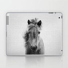 Wild Horse - Black & White Laptop & iPad Skin