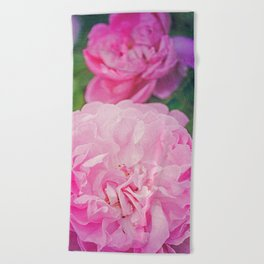 The World Smelled of Roses Beach Towel