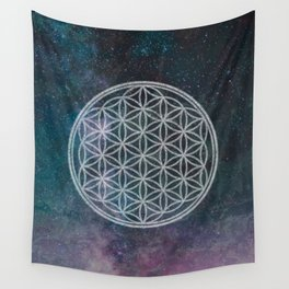 Sacred Geometry Universe 11 Wall Tapestry