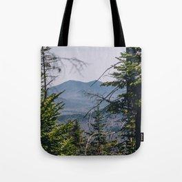 Nye Mountain Tote Bag
