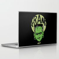 frank Laptop & iPad Skins featuring Frank by Thekrls