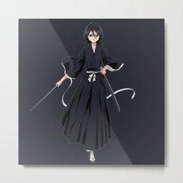 RUkia Kuchiki nice5 Metal Print