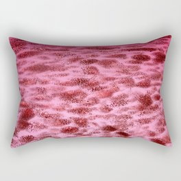 Pattern #1 - Aventurine in Hot Pink Rectangular Pillow