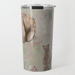 Bears and Dream Catchers Travel Mug