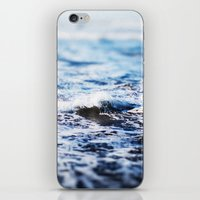surf iPhone & iPod Skins featuring Surf by Leah Flores