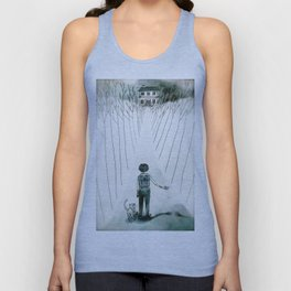 so lonely and so lost... Unisex Tank Top