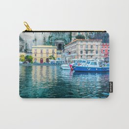 Marina in Sorrento, Italy Carry-All Pouch