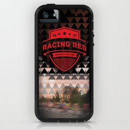Gastown Cycling Racing Reds iPhone Case