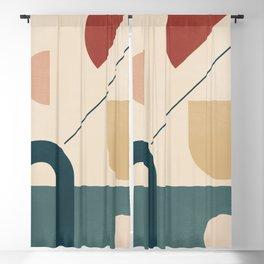 Geometric Shapes 87 Blackout Curtain