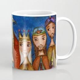 Nativity with Birds Coffee Mug